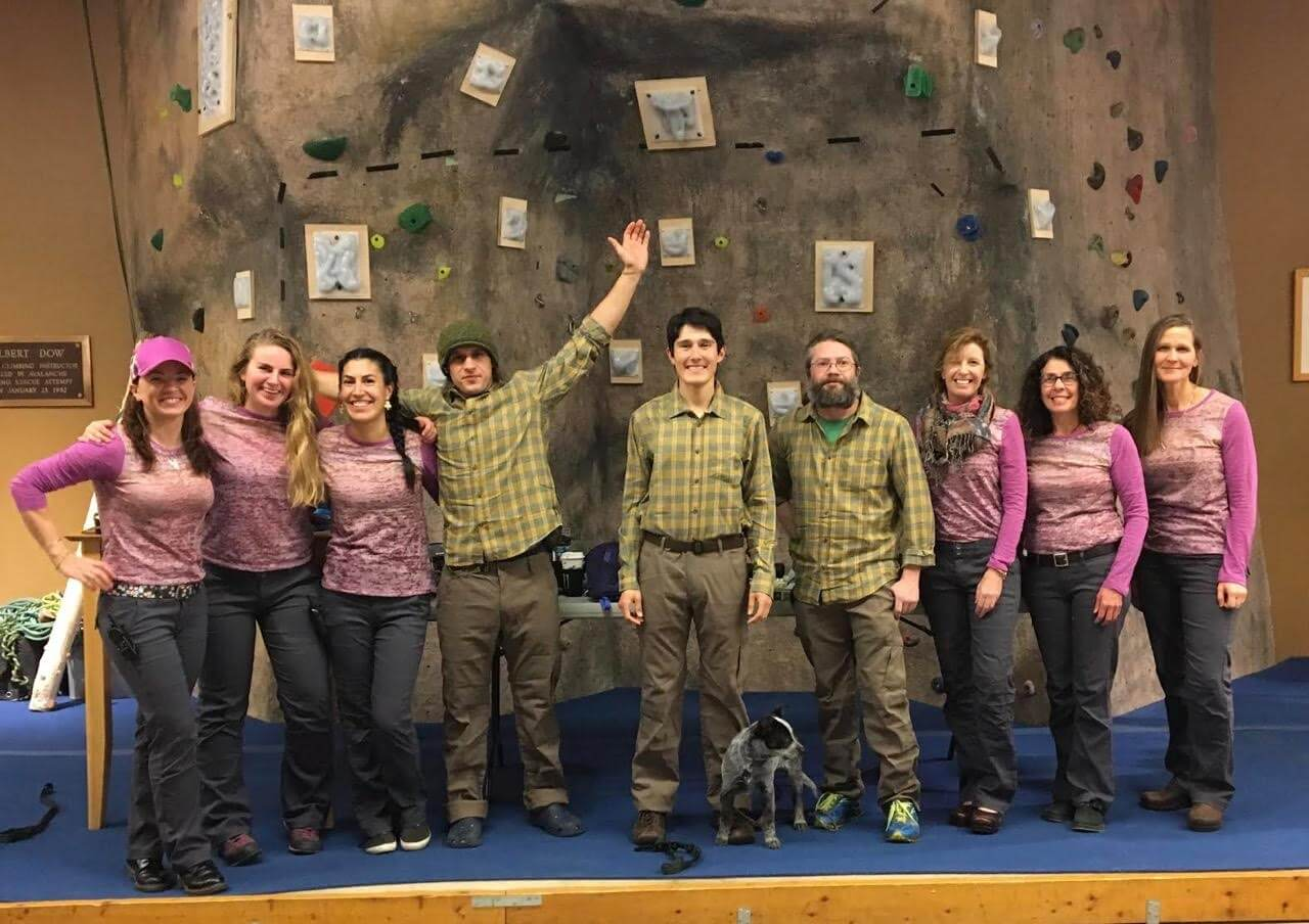 Women's night at Eastern Mountain Sports in North Conway, NH November 2016 sponsored in part by Prana and The Curtis Group.