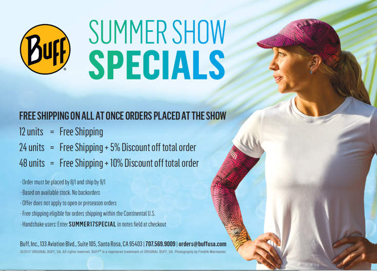 Buff Summer Show Specials 2017
